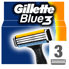 Rezerve aparat de ras Gillette Blue 3 3buc