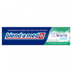 Pasta de dinti 3D White Fresh Extreme Mint Kiss Blend-a-med 100ml