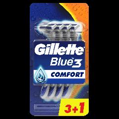Aparat de ras Gillette Blue 3 3+1 buc