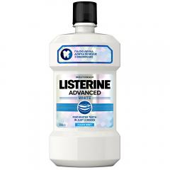 Apa de gura Advanced White Listerine 500 ml