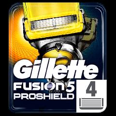 Rezerve aparat de ras Gillette Fusion Proshield 4buc