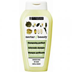 Sampon purificator cu extract de ceai verde si argila Les Cosmetiques 250 ml