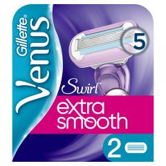 Rezerve aparat de ras pentru femei Gillette Venus Swirl, 2 Bucati