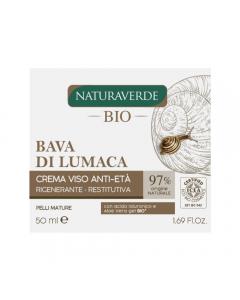 Crema de fata anti-rid extract de melc si aloe Naturaverde Bio 50ml