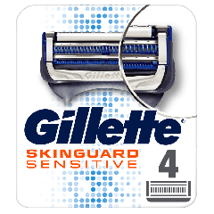 Rezerva aparat de ras Gillette SkinGuard Sensitive 4 buc