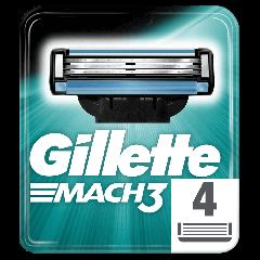 Rezerve aparat de ras Gillette Mach3 Manual 4buc