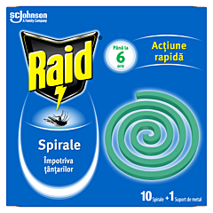 Spirale impotriva tantarilor Raid 10buc
