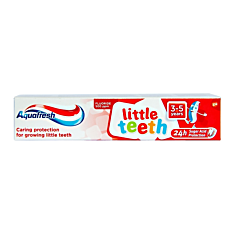Pasta de dinti little teeth 3-5 ani Aquafresh 50ml