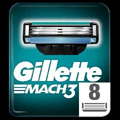 Rezerve aparat de ras Gillette Mach3 8buc