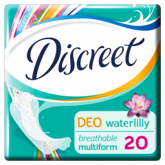 Absorbante zilnice Discreet Deo Waterlily Multiform 20buc