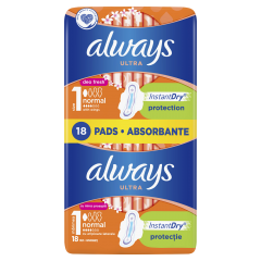 Absorbante Always Ultra Normal, 18 buc