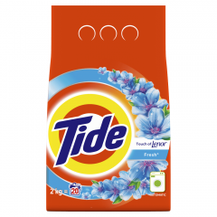 Detergent automat pudra Touch Of Lenor, Tide, 20 Spalari, 2 kg