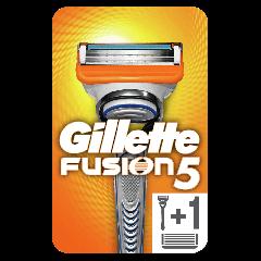 Aparat de ras Gillette Fusion Manual cu o rezerva inclusa