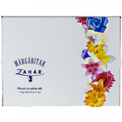 Plicuri cu zahar alb Margaritar 200bucx5g