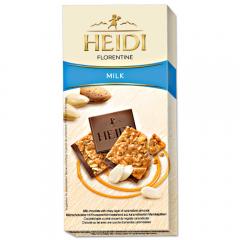 Ciocolata cu migdale caramelizate Heidi Grand'Or 90g