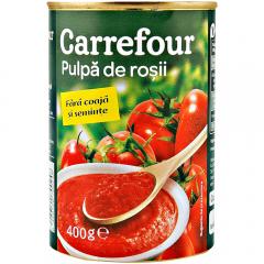 Pulpa de rosii Carrefour 400g