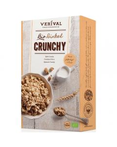 Cereale Bio Crunchy cu grau spelta Verival Bio 375g