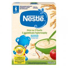Cereale orez cu 3 fructe, de la 6luni, Nestle 250g