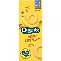 Biscuiti eco bebelusi cu banane Organix 54g