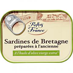 Sardine in ulei de masline Reflets de France 125g
