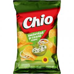Chips cu smantana si ceapa Chio 140g