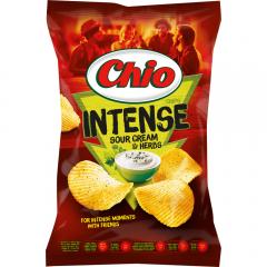Chips Intense smantana si ierburi Chio 135g
