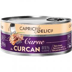 Carne de curcan 85% Capricii si Delicii 300g