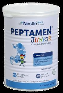 Lapte formula Peptamen Junior Nestle 400g