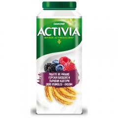 Iaurt de baut cu cereale si fructe de padure Activia 320g