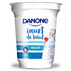 Iaurt de baut natural 1.8% grasime Danone 350g