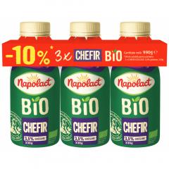 Chefir Bio 3,5% grasime Napolact 3x330g