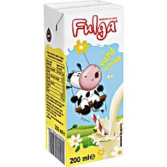 Lapte UHT cu vanilie 1.5% Fulga 200ml