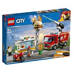 LEGO City Incendiu-Burger Bar 60214