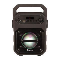 Boxa portabila troller Roller Drum NGS, Bluetooth, Display, Fm, Usb, Sd, Aux, Negru