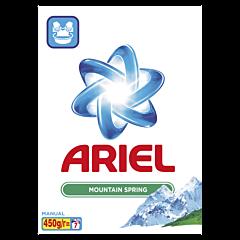 Detergent manual pudra Ariel Mountain Spring 450 g, 20 spalari