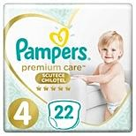 Scutece-chilotel Pampers Premium Care Pants Marimea 4, 9-15 kg, 22 buc