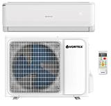 Aparat de aer conditionat Vortex VAI1221FFWR, 12000 BTU, Wi-Fi Ready, Kit instalare inclus, Alb