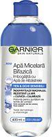 Apa micelara Garnier Skin Naturals Bifazica cu Apa de Albastrele, pentru ten sensibil, 400 ml