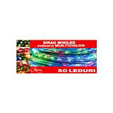 Sirag 50 minileduri, multicolor