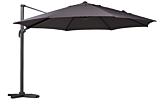 """Umbrela aluminiu """"Ronda"""", 400 cm, gri"""