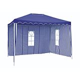 Pavilion gradina 2x3Xx.5 m, albastru