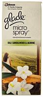Rezerva odorizant cu parfum de santal si iasomie Glade Microspray 10ml