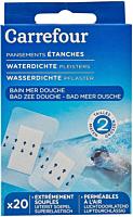 Pansamente rezistente la apa, Carrefour  20 bucati
