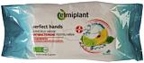 Servetele umede antibacteriene lamaie verde&gutuie Elmiplant15 buc