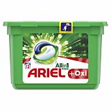 Detergent automat capsule Ariel All in One PODS Plus Oxi, 13 spalari