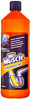 Gel hidraulic pentru desfundat tevi Mr.Muscle Instalatorul Gel 1L