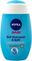 Sampon si spuma de baie Nivea Baby Skin Sensitive 200ml