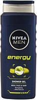 Gel pentru corp si par Energy Nivea Men 500 ml
