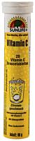 Tablete efervescente cu gust de lamaie,Vitamina C Sunlife, 20 bucati, 80g