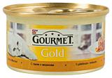 Hrana pisici cu pui si morcovi Purina Gourmet Gold 85G